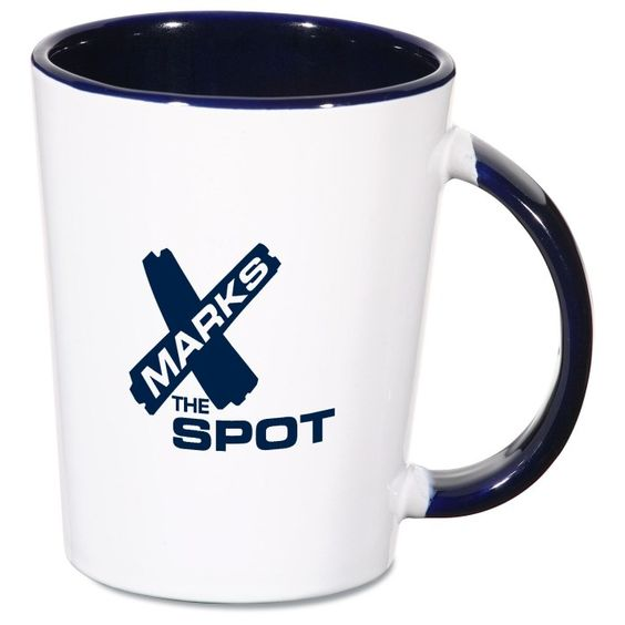 They'll never suspect the brilliance held within this imprinted mug!