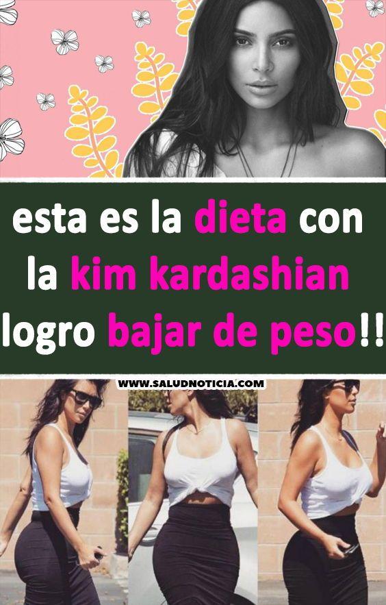 dieta kim kardashian 2019
