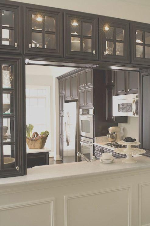 Kitchen Pass Through Transitional Kitchen Dream Kitchen Remodel Elegant Kitchens Kitchen Design