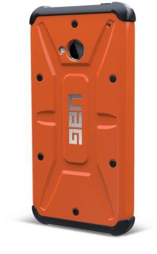 Urban Armor Gear - Carcasa rígida con protector de pantalla para HTC One, color naranja y negro B00CJY937G - http://www.comprartabletas.es/urban-armor-gear-carcasa-rigida-con-protector-de-pantalla-para-htc-one-color-naranja-y-negro-b00cjy937g.html