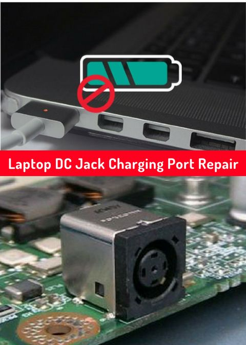 Is Your Laptop Not Charging Correctly Or At All Dc Jacks Can Loosen Due To Normal Wear And Tear Iknowrepairs Has Your Affordable So Laptop Repair Repair Port