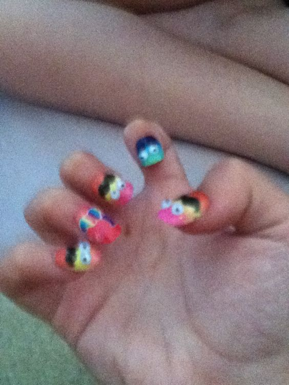 Just did my nails @Real_kiki