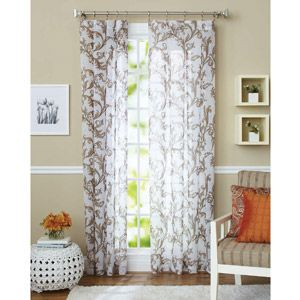 Better Homes and Gardens Sydney Curtain Panel Curtains