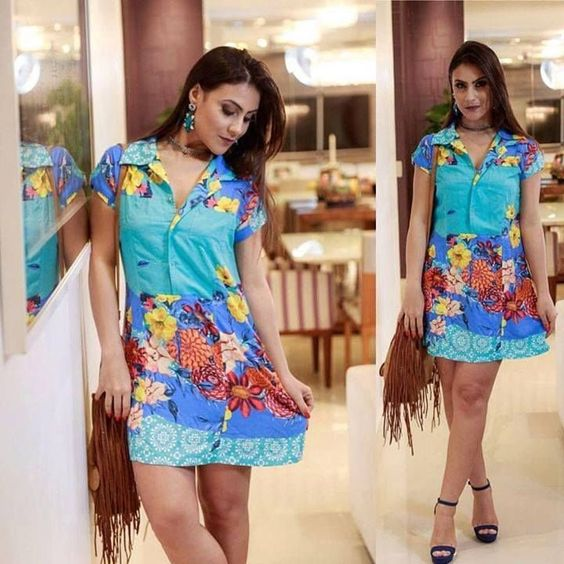 Vestido Elegante - Moda Feminina