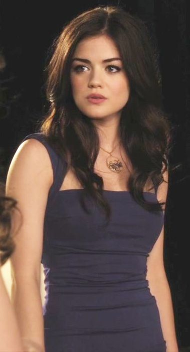 Aria Montgomery is perfect.