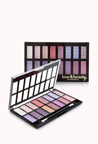 Shimmering Eyeshadow Palette   FOREVER21 - 1000129032