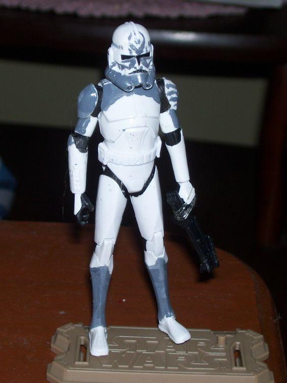 custom phase 2 clone trooper quotcometquot star wars clone