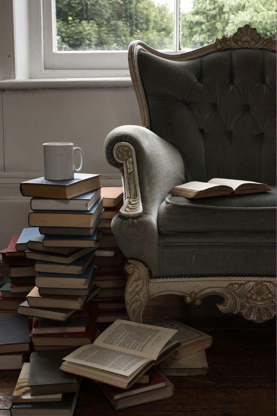 books & tea for me