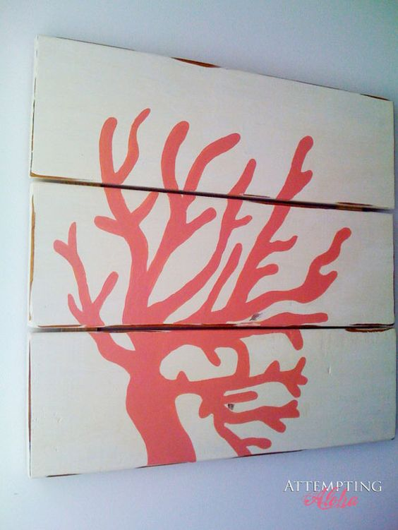 VINTAGE & CHIC: decoración vintage para tu casa [] vintage home decor: Decorando con corales [] Decorating with corals