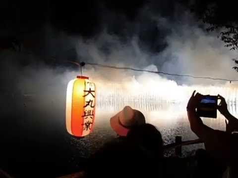 生実町花火大会、圧巻!!ナイアガラの滝、必見!!