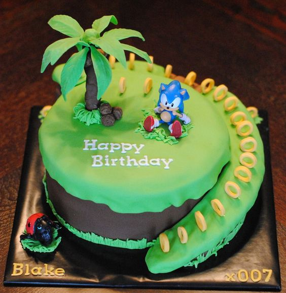 sonic the hedgehog cake birthday cakes the o jays and birthdays on 7593