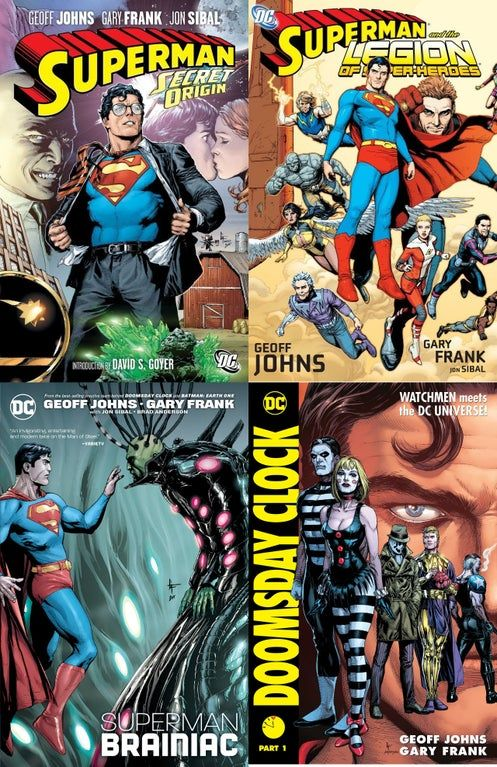 Popular Opinion Geoff Johns And Gary Frank S Work On Superman Is Awesome Superman Superman Geoff Johns All Star Superman