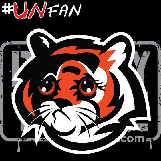Funny Bengals Parody Logo #UNfan #Browns #Bengals #Ravens #Steelers #NFL #ParodyTease #memes