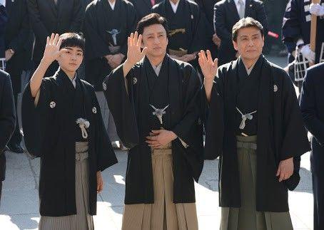 大物役者の仲間入りを果たした八代目市川染五郎のかっこいい画像