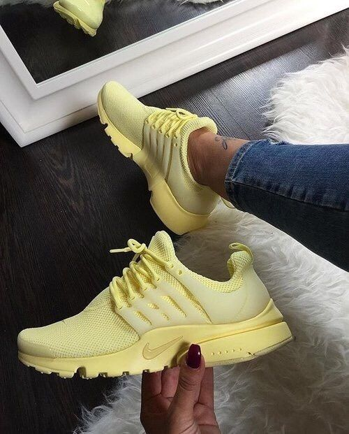nike air presto femme jaune
