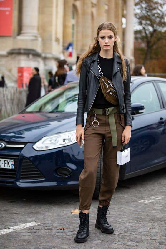 Shiny Patent Leather Took Center Stage on the Last Day of Paris Fashion Week - Fashionista