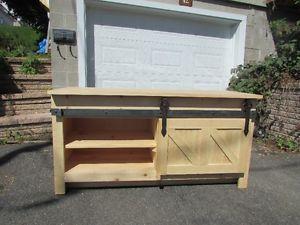 Meuble vanit de salle de bain cuisine en bois sur for Meuble chez leon quebec