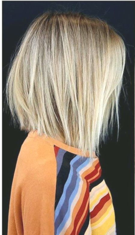 Capelli biondi Bob's Straight, 25 short hairstyles per capelli lisci