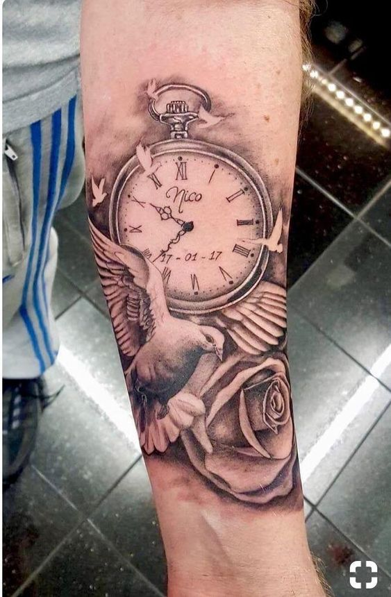 Popular Wrist Tattoo Models In 2019 Tattoos For Men 100 Best Men Tattoo Models Watch Tattoos Tattoos For Daughters Pocket Watch Tattoos