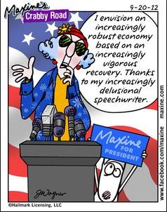 Tri Cities On A Dime: LAUGH FOR THE DAY - MAXINE'S POLITICAL SPEECH!