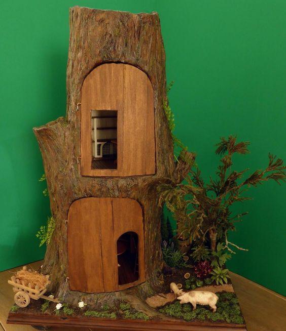 Boomhuis - In Het Mini - Koddels, Poppenhuizen en Miniaturen