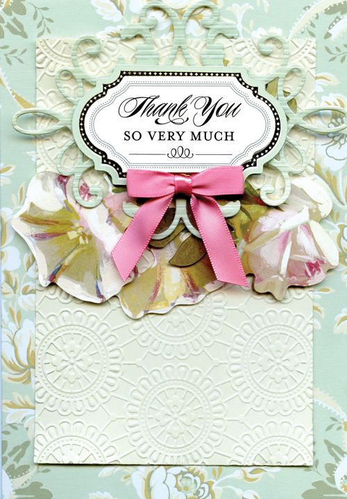 Awesome The Anna Griffin Garden Window Card Kit Includes Enough Card Surfaces,  Layers And Embellishments To