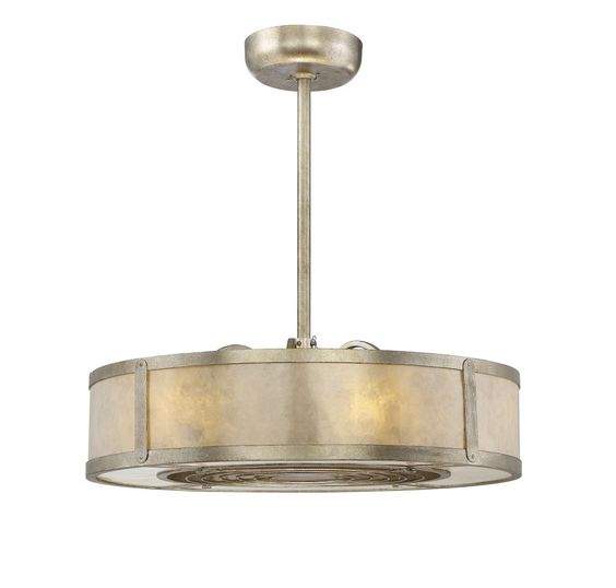 Savoy House 26-335-FD-272 Vireo 26 Inch Air Ionizing Fan D'lier In Silver Dust With Cream Mica Glass , Cream Organza Shade And Silver Blade is made by the brand Savoy House and is a member of the Vireo collection. It has a part number of 26-335-FD-272.