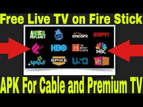 Watch Free Live Tv And Cable Channels On Fire Stick 1 App For Live Tv And Premium Channels Youtube Live Tv Fire Tv Stick Cable Channels
