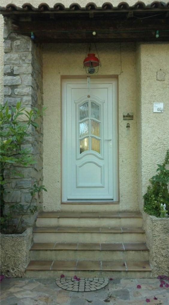 Installation du0027une porte du0027entrée PVC dans le Var Fenêtres PVC et