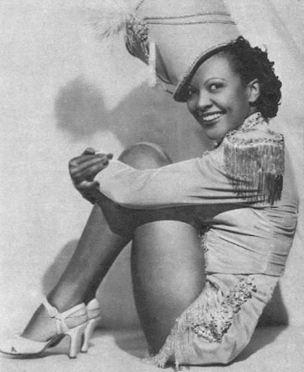 Theresa Harris - early black film star.: