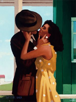 Jack Vettriano The Last Great Romantic oil painting for sale