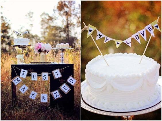 Cake For A Vintage Wedding