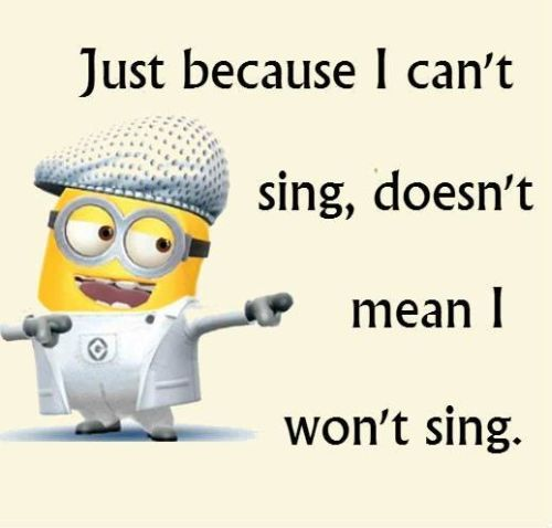 funny singing quotes