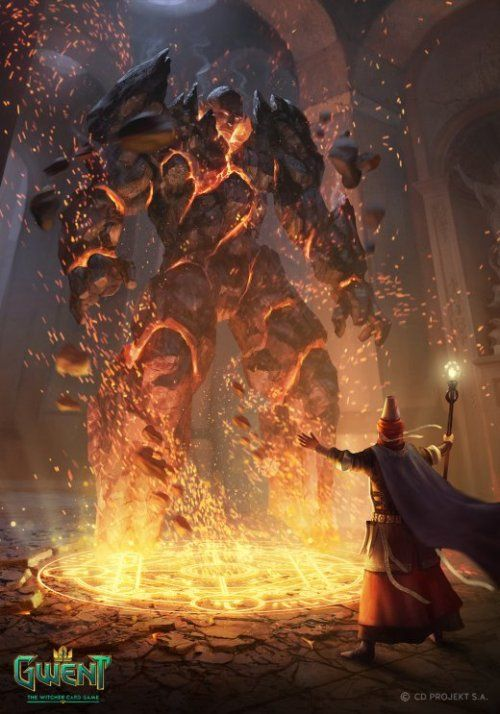 As Ilustracoes De Fantasia Para O Jogo Gwent The Witcher Card Game De Nemanja Stankovic O Mago Ilustracoes Ilustracao De Fantasia