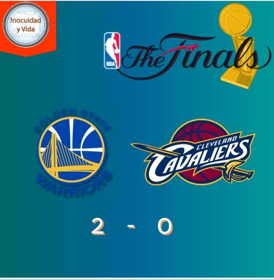 Esta por iniciar el tercer juego #NBAFinals @warriors vs @cavs con ventaja de 2 buscan consolidar el campeonato