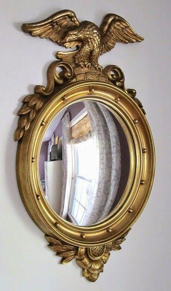 Federal Bull's Eye Mirror
