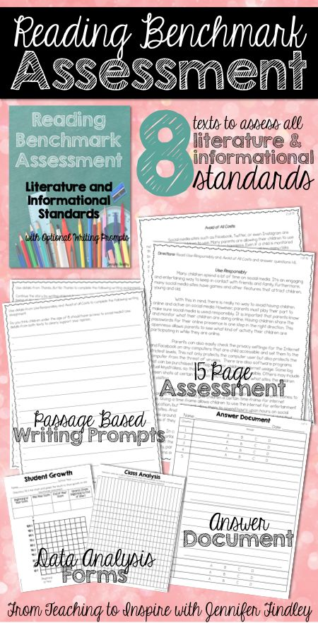benchmark assessment Benchmark assessment systems provide teachers with tools and texts to observe and quantify reading behaviors then use that data to plan instruction.