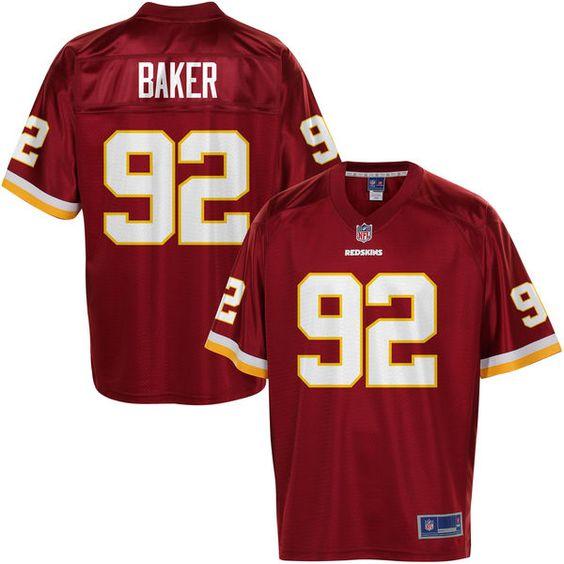 Pro Line Men's Washington Redskins Chris Baker Team Color Jersey - NFLShop.com