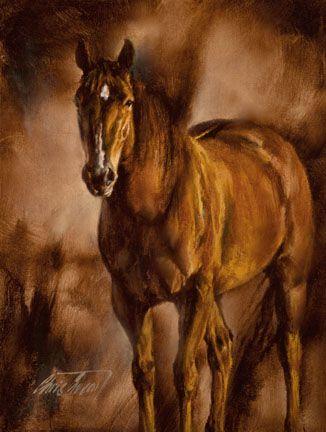"Chris Owen Western Art ""Contentment"""