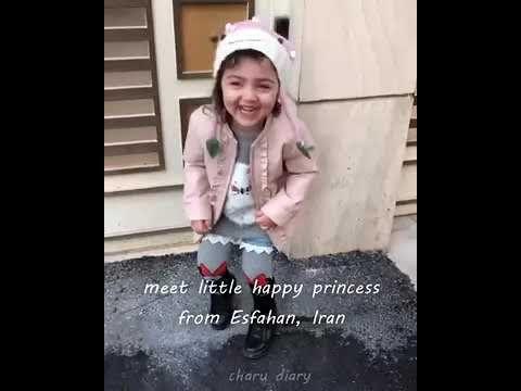 Anahit Hashemzade Cute Baby Girl Anahita Hashemzadeh
