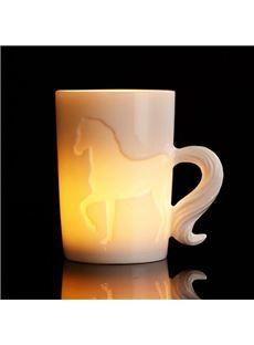 New Arival Stylish 3D Ceramic Horse Creative Mug