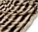 faux chinchilla fur throw