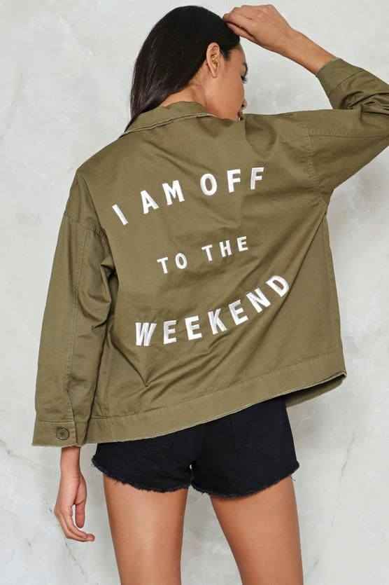 ARMY JACKET FOR MUMS THAT SLAY
