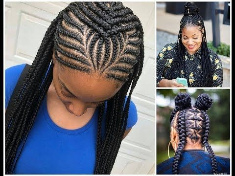 2020 African Braided Hairstyles For Beautiful Ladies African Hair Braiding Styles Cornrow Hairstyles Braided Hairstyles