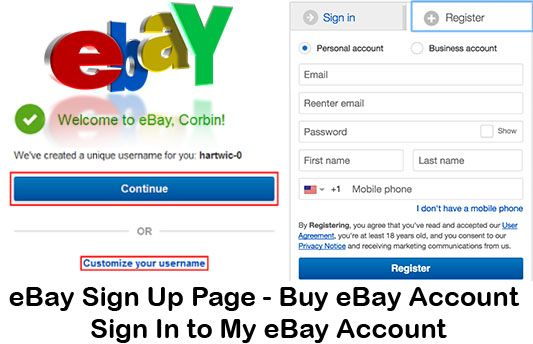 Ebay Sign Up How To Open An Ebay Account Ebay Sign Up Process Techsovibe Ebay Business Business Account Sign Up Page