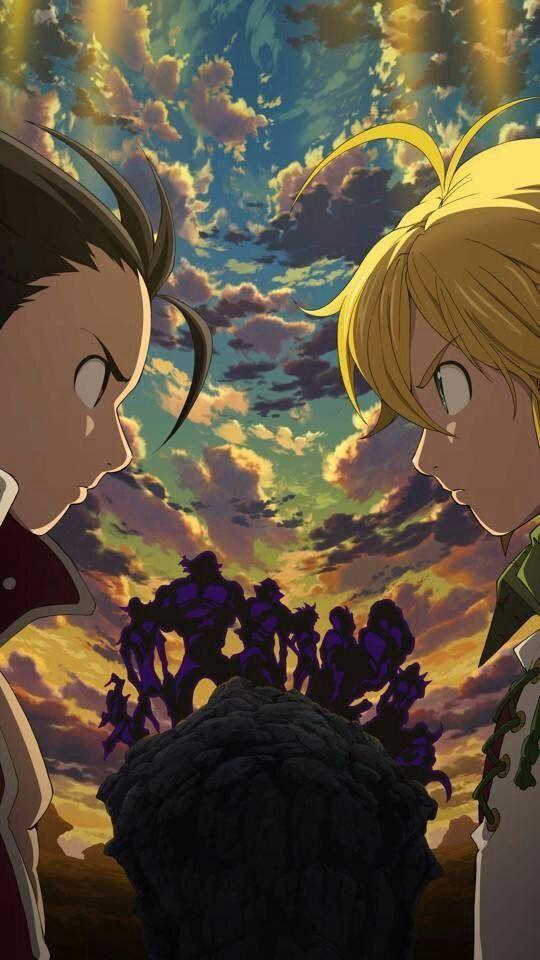 Seven Deadly Sins Nanatsu No Taizai Animes Wallpapers Iphone Wallpapers Android Animes Anime Wallpaper Anime Drawings Seven Deadly Sins Anime