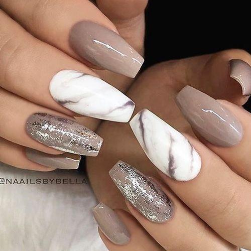 Best Nail Designs 53 Best Nail Designs For 2018 Best Nail Art Best Acrylic Nails Gorgeous Nails Nail Art Wedding