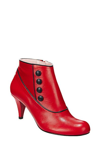 Boots - crack - Red Annabel Winship on MonShowroom.com