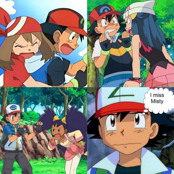 what episode do ash and misty meet again