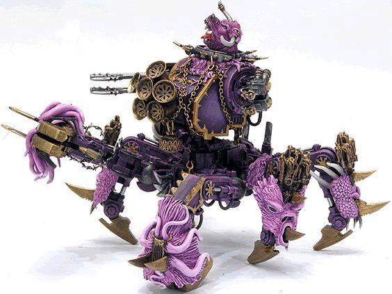 Slaneesh Defiler Warhammer 40,000